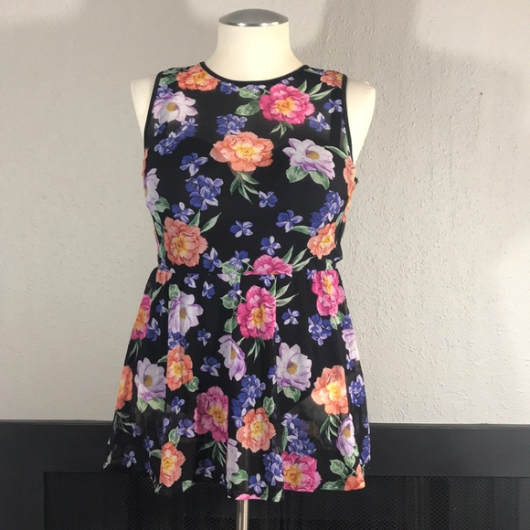 torrid Other - Torrid One Piece Floral Skirted Swimsuit size 1F